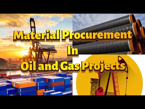 MATERIAL PROCUREMENT IN OIL & GAS PROJECTS