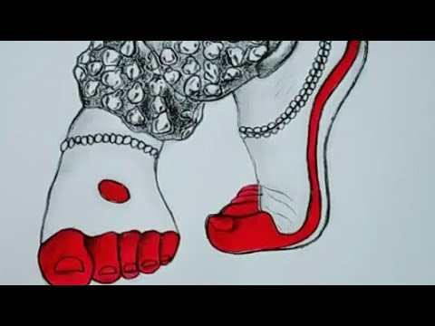 How To Draw Legs Of A Classical Dancer Youtube