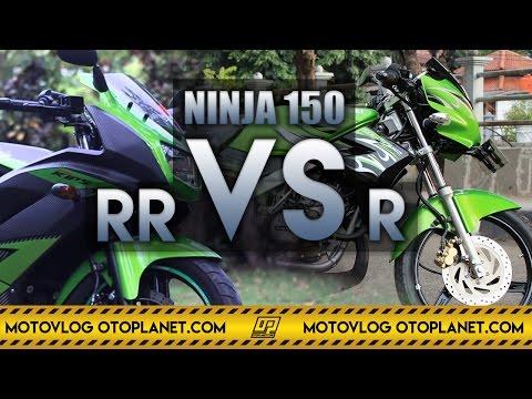 Motovlog #24 - Perbedaan Kawasaki Ninja 150 RR dan Kawasaki Ninja 150 R