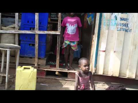 Slum kids in Kampala