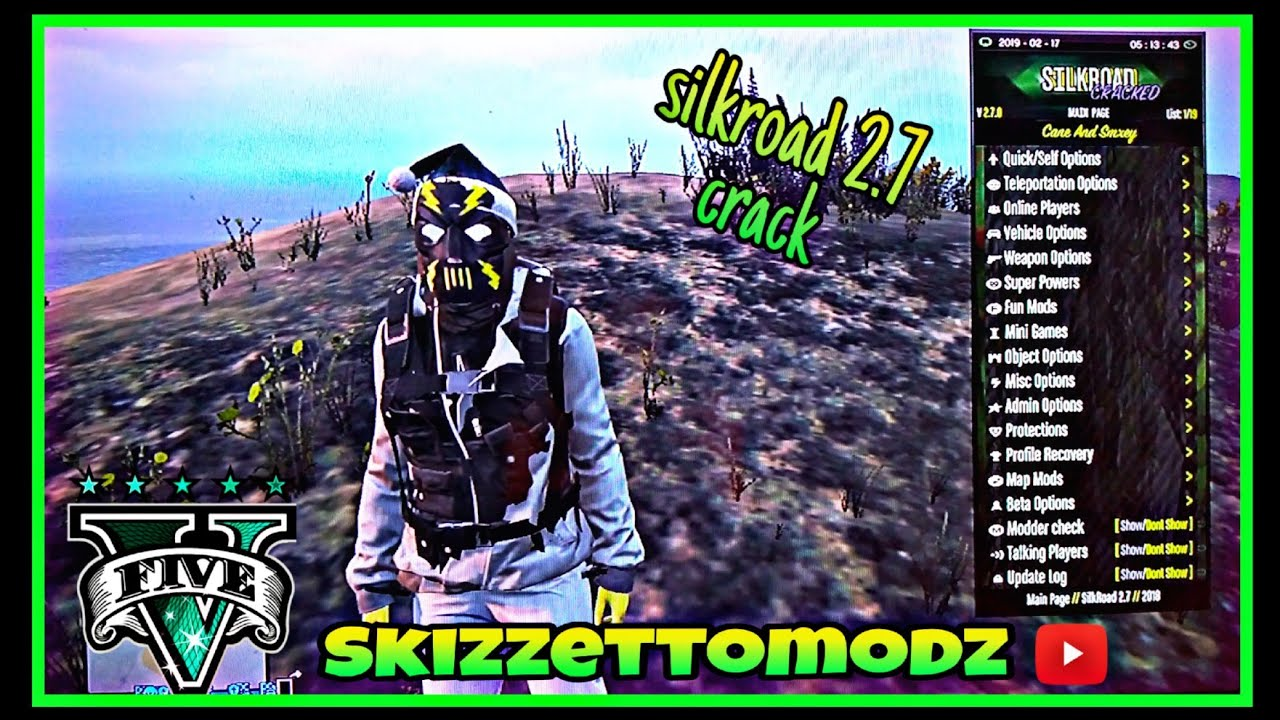 GTA 5 Silkroad 2 7 Crack Best Mod Menù Showcase (Rgh/Jtag) + Link Download