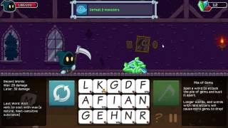Fncwill Plays: Letter Quest Grims Journey