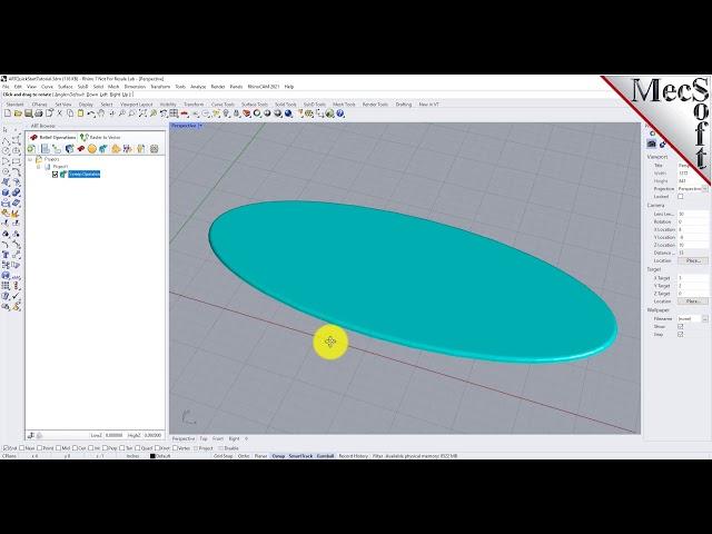 RhinoCAM-ART Module 2021 Quick Start