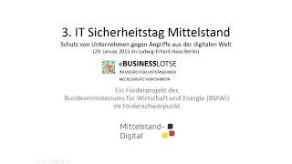3. IT-Sicherheitstag Mittelstand in Berlin