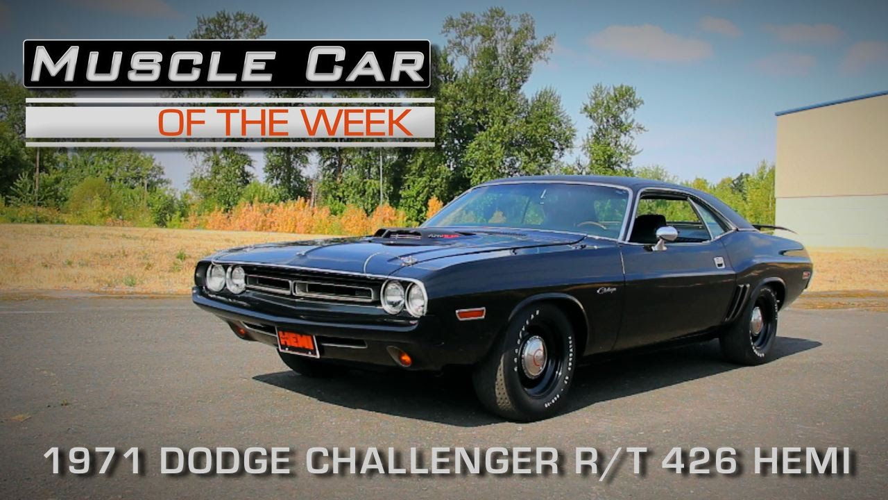 Muscle Car Of The Week Video Episode 136 1971 Dodge Challenger R T