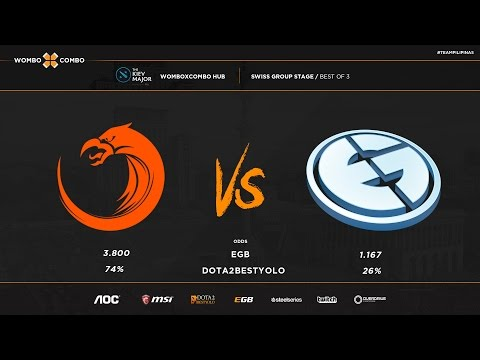 TNC vs EG Kiev major group stage game 2