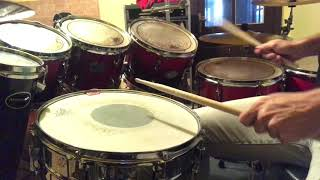 20th Century Fox fanfare intro - Snare drum cover