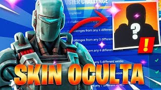 🔴 UNLOCKING * HIDDEN SKIN * of FORTNITE (season 6)-CHALLENGES WEEK 7