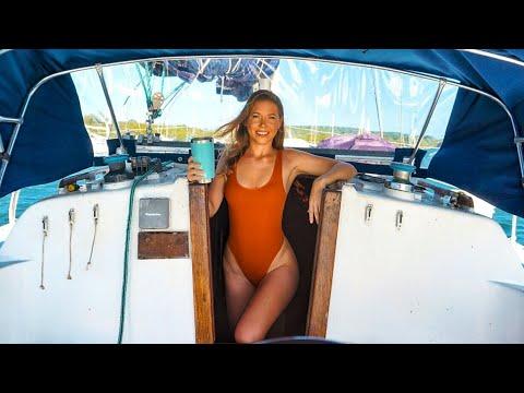 Boat Life Ep.14 Brand NEW BOAT Feeling Sailing GBU