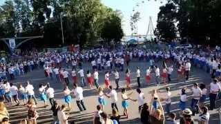 Танцевальный рекорд России по сальсу-руэда 27 июня 2015 в Хабаровске