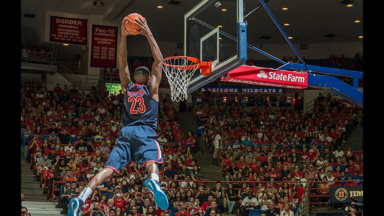 2013 Arizona Basketball Red Blue Experience - YouTube