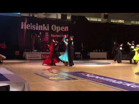 Helsinki Open Dance Festival  2017, WDSF Open Adult final waltz