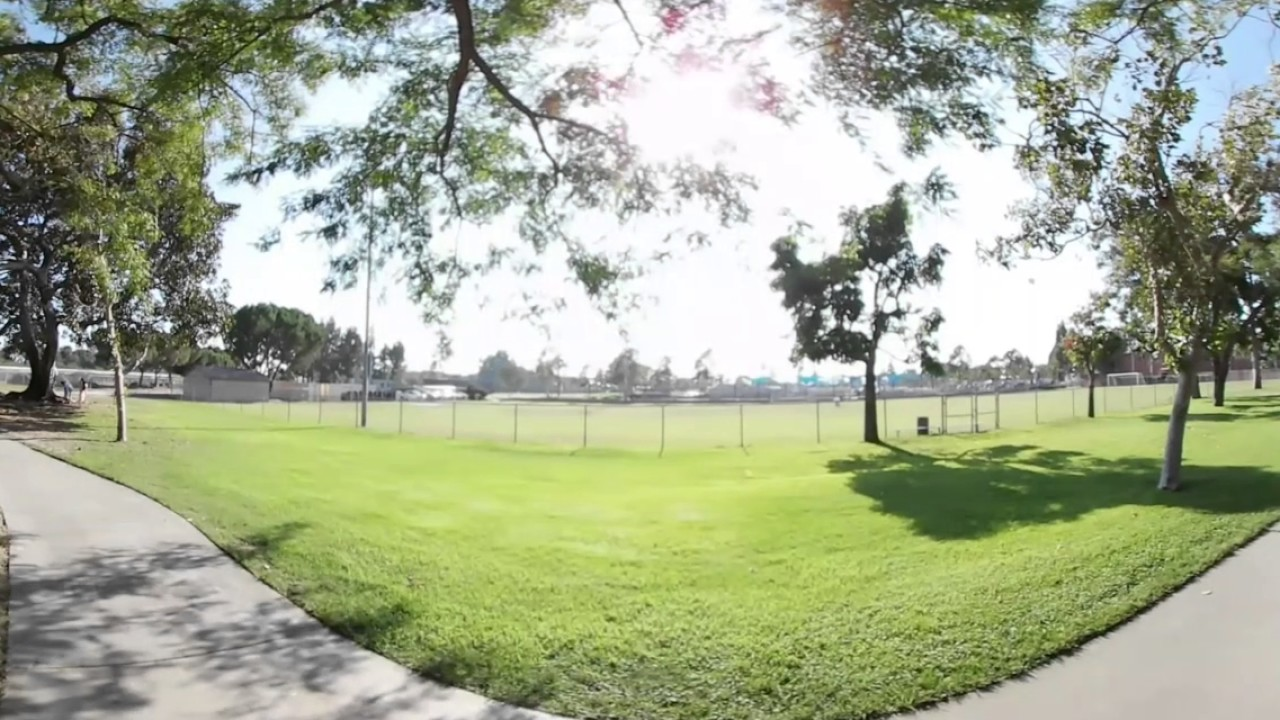 Wonderful John Anson Ford Park At Bell Gardens, CA In 360.