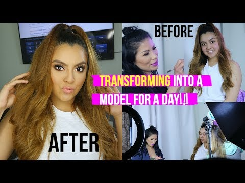 Evelyn MUA Gives Me The Transformation Of My LIFE! Glow Up Tutorial:  (I get pranked too🙄)