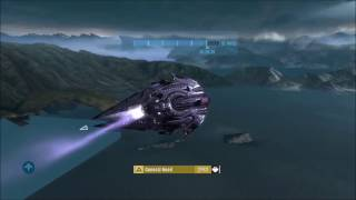 Halo: Reach - Flying a Full Seraph (REVISITED)