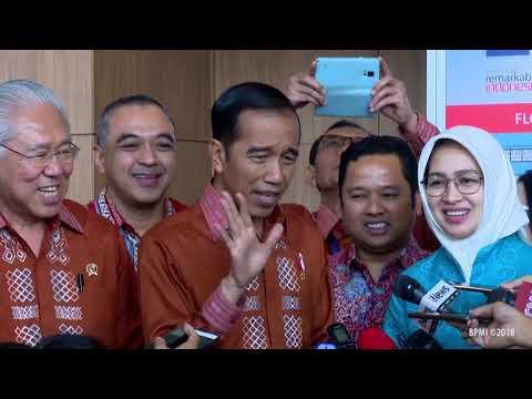 Keterangan Pers Presiden RI. Tangerang, 24 Oktober 2018