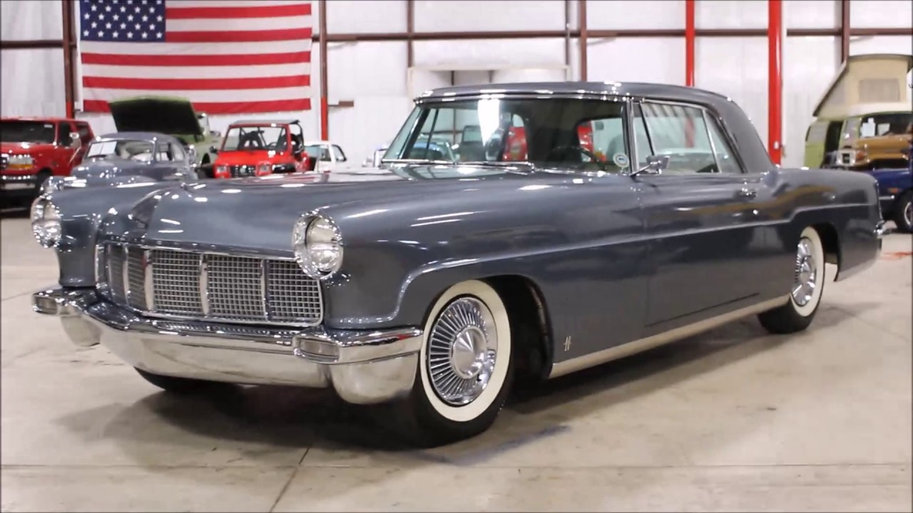 1956 lincoln continental mark ii youtube. Black Bedroom Furniture Sets. Home Design Ideas