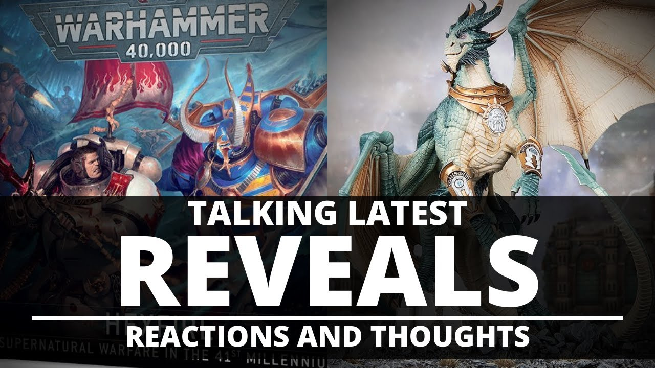 TALKING REVEALS! HEXFIRE BOXSET & DRACONITH REACTIONS AND THOUGHTS!