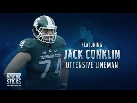 Jack Conklin Film Study | Move the Sticks 360 series | NFL