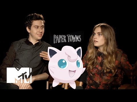 Which Pokémon Is The 'Paper Towns' Casts' Spirit Animal? | MTV News