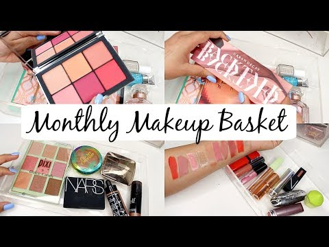 Monthly Makeup Basket! Urban Decay Backtalk, NARS Wanted, Pixi Collabs