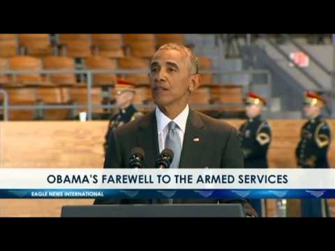 OBAMA'S FAREWELL TO THE ARMED SERVICES