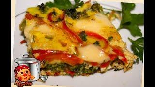 Как пожарить Брокколи - Фриттата на сковороде. Быстрый завтрак!!!