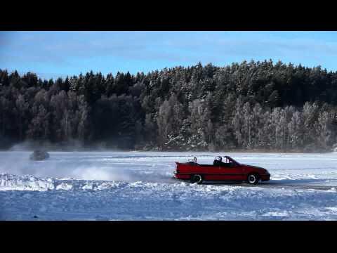 Frozen Lake Race Track - Sweden