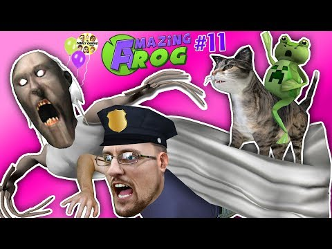 GRANNY MONSTER Squishes FGTEEV Amazing Frog! (Graphling Hook Quest #11)