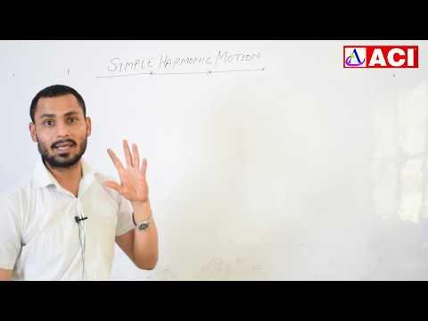 Physics | Simple Harmonic Motion | Ram Sir |ACI