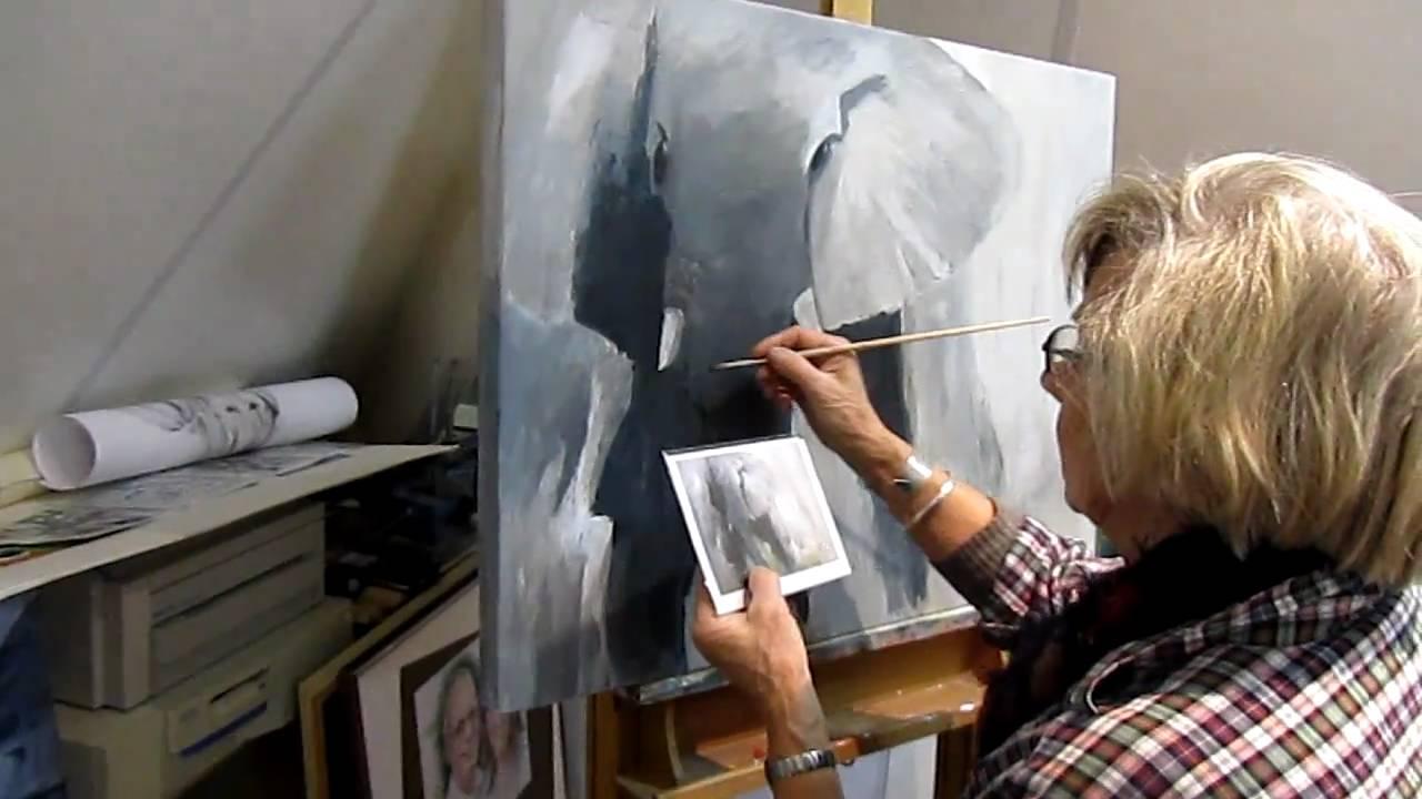 Verwonderend cursus tekenen en schilderen - YouTube QG-15