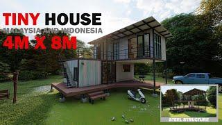 Membina Tiny House Lebih Jimat Dari Rumah Kontena Di Malaysia