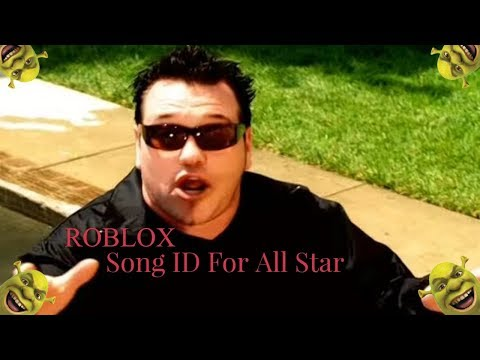ROBLOX Song ID For All Star (Shrek Theme Song) (removed due to copyright)
