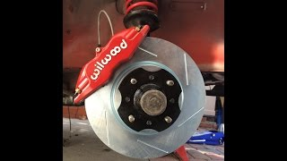 How To Install 240z 280z Front Wilwood Brake Upgrade Silver Mine Motors by  Edan Vhadat