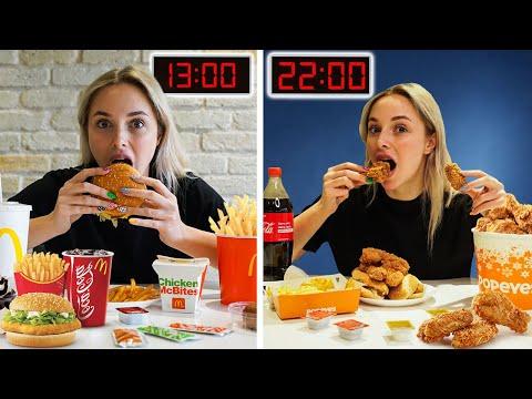 24 SAAT BOYUNCA FAST FOOD YEDİM  🍔 🍕 🍗  @Cihan Albayrak