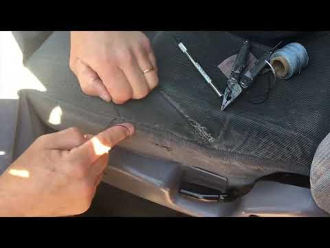 Cloth Repair - YouTube