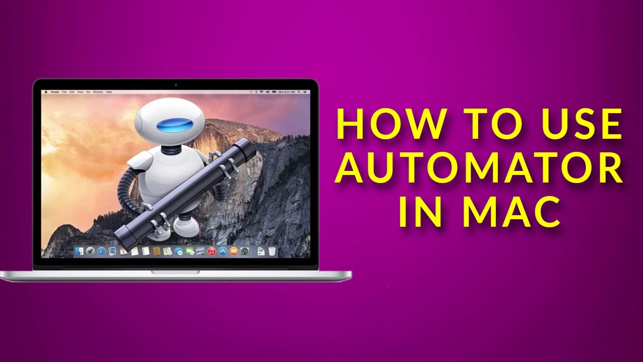 How to Use Automator in Mac OS X