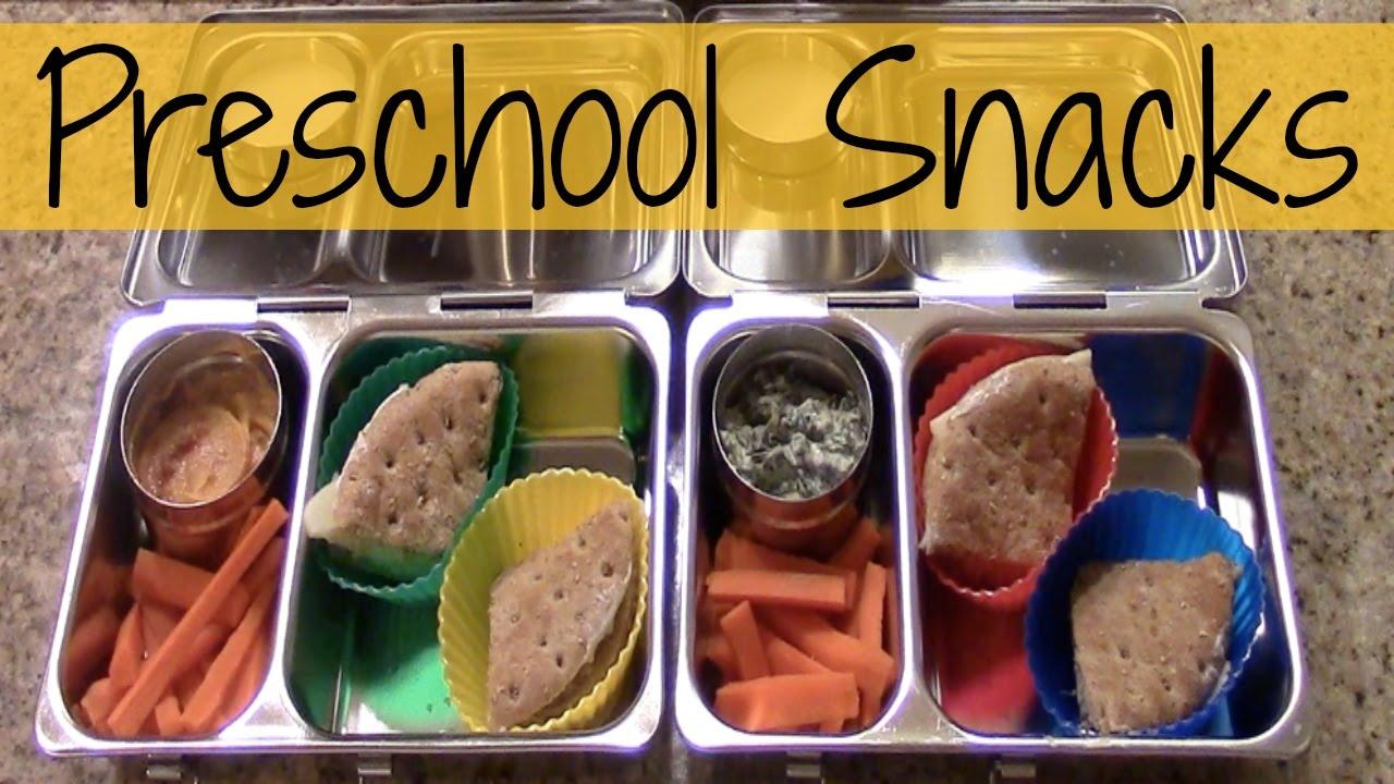 Preschool Snack Lunch Ideas