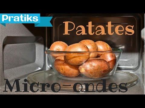 Comment plucher les pommes de terre la mode japonaise - Frite au micro onde ...