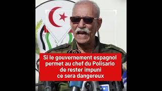 Pourquoi le gouvernement espagnol protège-t-il le chef du Polisario Ibrahim Ghali ?