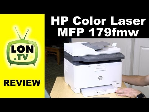 Compact Color Laser Multifunction Printer: HP MFP 179fnw Review