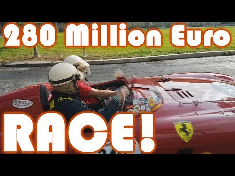 Mille Miglia 2017! The amazing cars leaving Rome! Race is ON!