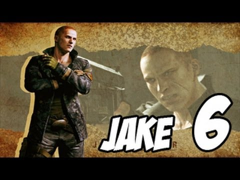 Resident Evil 6 Jake | Buscando los medallones | Walkthrough | Parte 6