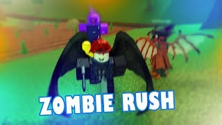 HOW ARE YOU NOT DEAD!??? | Roblox ZOMBIE RUSH | w/ Ryan James