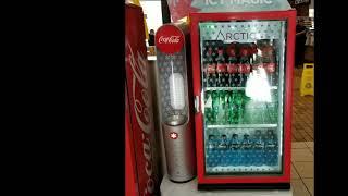 Arctic COKE!!! Machine makes coke into a slush in 20 seconds! For FREE!!!