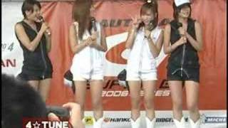 4☆TUNE_Live★Talk Show★@2006-08-19or20_SuperGT6thSuzuka(Gal-O 佐藤和沙 動画 25