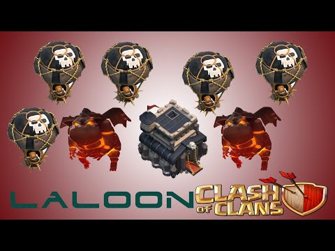 Laloon II TH9 Famous Attack Strategy 2018!
