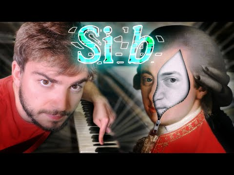 Por qué Mozart no usaba el Si bemol