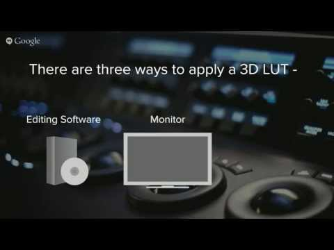 Using CalMAN's Direct-Load 3D LUTs for Supported Monitors Webinar