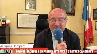 Municipales : A Orange, Jacques Bompard en tête face à trois autres candidats